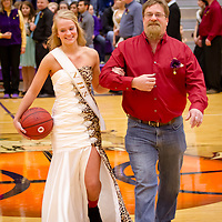 2-3-2014 Basketball Homecoming (Evening Escorts with Parents)