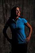 Paula Reto during portrait session prior to the second stage of LPGA Qualifying School at the Plantation Golf and Country Club on Oct. 6, 2013 in Vience, Florida. <br /> <br /> <br /> ©2013 Scott A. Miller