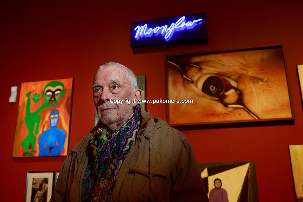 David Bailey attends a photo call new exhibition called Bailey's Stardust and Moonglow at Scottish National Gallery. Edinburgh. Pako Mera 16/07/2015