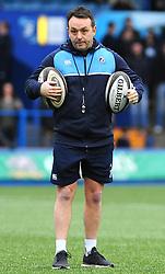 Backs and Attacks coach Matt Sherratt of Cardiff Blues - Mandatory by-line: Nizaam Jones/JMP- 24/03/2018 - RUGBY - BT Sport Cardiff Arms Park- Cardiff, Wales - Cardiff Blues v Ulster Rugby - Guinness Pro 14