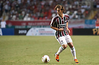 20120207: RIO DE JANEIRO, BRAZIL - Player Diguinho (FLU) at football match between Fluminense (BRA) vs  Arsenal de Sarandi (ARG) for Copa Libertadores, held at Engenhao stadium in RJ<br /> PHOTO: CITYFILES