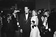 Prince Pavlos and Princess Marie Chantal of Greece. Costume Institute. Metropolitan Museum, New York.  December 1995. © Copyright Photograph by Dafydd Jones 66 Stockwell Park Rd. London SW9 0DA Tel 020 7733 0108 www.dafjones.com