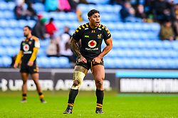 Malakai Fekitoa of Wasps- Mandatory by-line: Dougie Allward/JMP - 18/01/2020 - RUGBY - Ricoh Arena - Coventry, England - Wasps v Bordeaux-Begles - European Rugby Challenge Cup