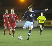 Calvin Colquhoun- East Stirling v  Dundee, SPFL reserve league at <br /> Recreation Park<br /> <br />  - &copy; David Young - www.davidyoungphoto.co.uk - email: davidyoungphoto@gmail.com