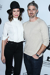 LOS ANGELES, CA, USA - JANUARY 23: Los Angeles Art Show 2019 Opening Night Gala held at the Los Angeles Convention Center on January 23, 2019 in Los Angeles, California, United States. 23 Jan 2019 Pictured: Odette Annable, Dave Annable. Photo credit: Xavier Collin/Image Press Agency / MEGA TheMegaAgency.com +1 888 505 6342