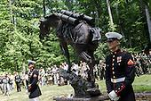 Original War Horse Dedication at Marine Corps Museum.