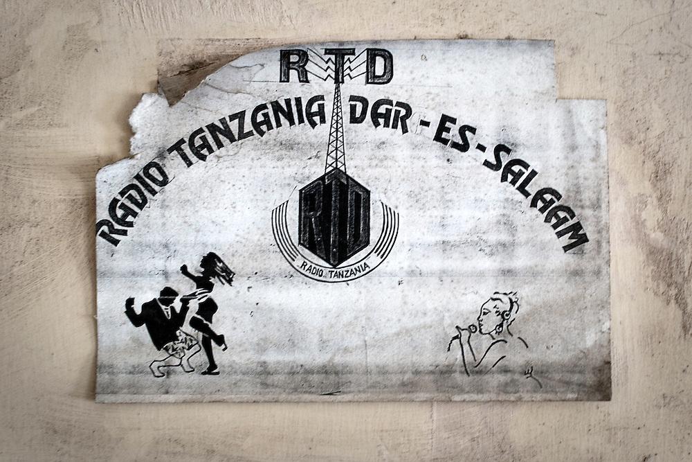 The old Radio Tanzania Dar es Salaam logo, circa 1980's.