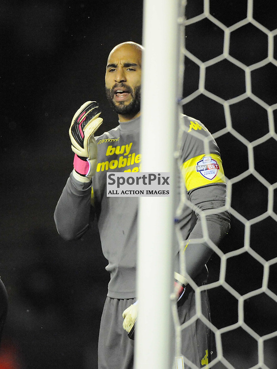 Lee Grant Goalkeeper, Derby County, Leicester City v Derby, Sky Bet Championship, Friday 10th January 2014