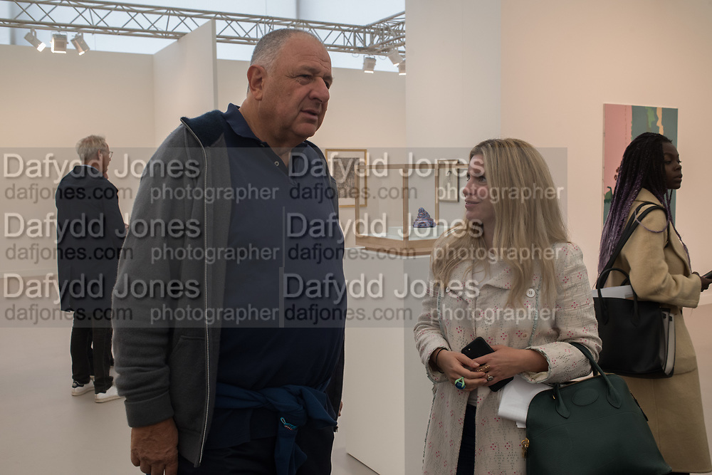 JOHNNY PIGOZZI, ALMA ZEVI, Frieze opening day. Regent's Park. London. 2 October 2019