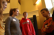 16721Middle school students at the Russ Research Fair, Walter Hall: Colby Ware