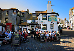 UK CORNWALL ST IVES 10JUN08 - The Sloop Inn, established in the early 14th century at St Ives in Cornwall, western England...jre/Photo by Jiri Rezac / WWF UK..© Jiri Rezac 2008..Contact: +44 (0) 7050 110 417.Mobile:  +44 (0) 7801 337 683.Office:  +44 (0) 20 8968 9635..Email:   jiri@jirirezac.com.Web:    www.jirirezac.com..© All images Jiri Rezac 2008 - All rights reserved.