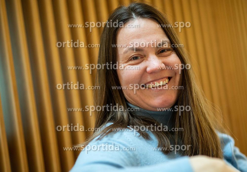 Portrait od Tina Krizan, former professional Slovenian tennis player, on January 29, 2019 in Ljubljana, Slovenia. Photo by Vid Ponikvar / Sportida