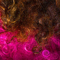 Drag queen's wigs at backstage at Jacques Cabaret in Bay Village neighborhood of Boston, MA USA on March 18, 2012.<br /> Jacques Cabaret (EST: 1931) is the oldest drag queen live cabaret in Boston, MA USA.