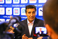 Mohed ALTRAD - 30.12.2014 - Conference de presse - Montpellier<br /> Photo : Guyonnet / Icon Sport
