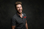 Chris Lane photographed at the iHeartCountry Music Festival at the Frank Erwin Center in Austin, Texas on April 30, 2016.