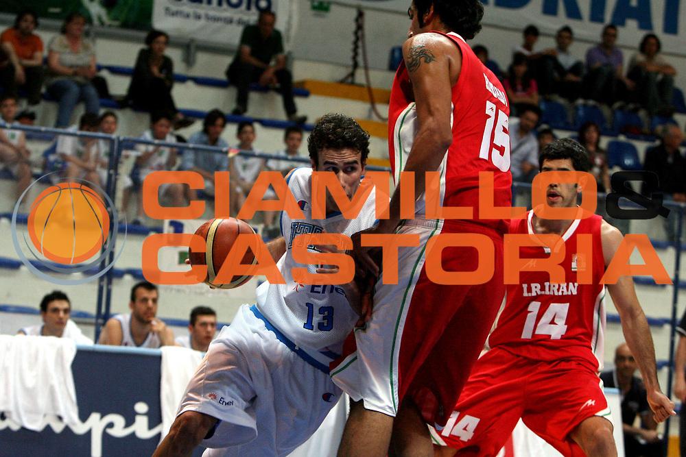 DESCRIZIONE : Roseto degli Abruzzi Torneo Bandiera Blu Italia Iran<br /> GIOCATORE : Luigi Datome<br /> SQUADRA : Nazionale Italia Uomini <br /> EVENTO : Torneo Internazionale Bandiera Blu di Roseto degli Abruzzi<br /> GARA : Italia Iran<br /> DATA : 31/05/2008 <br /> CATEGORIA : palleggio<br /> SPORT : Pallacanestro <br /> AUTORE : Agenzia Ciamillo-Castoria/E.Castoria<br /> Galleria : Fip Nazionali 2008<br /> Fotonotizia : Roseto degli Abruzzi Torneo Bandiera Blu Italia Iran<br /> Predefinita :