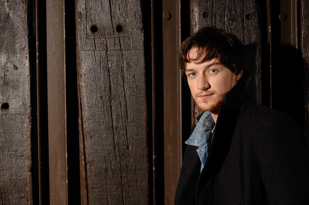 James McAvoy, actor.