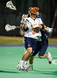 Virginia Cavaliers M Brian Carroll (36)..The Virginia Cavaliers men's lacrosse team faced the Georgetown Hoyas in a Fall Ball Scrimmage held at the University Hall Turf Field in Charlottesville, VA on October 12, 2007.