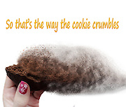Famous humourous quotes series: That's the way the cookie crumbles