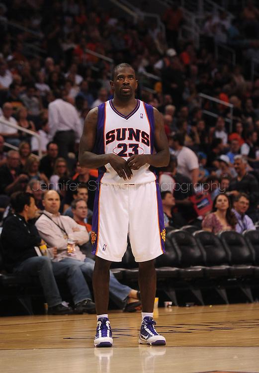 Mar. 19 2010; Phoenix, AZ, USA; Phoenix Suns guard Jason Richardson (23) during the second half at the US Airways Center.  The Suns defeated the Jazz 110-100. Mandatory Credit: Jennifer Stewart-US PRESSWIRE.
