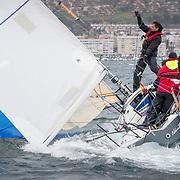 © María Muiña I sailingshots.es. Día 29 de Abril de 2018. Campeonato de España J80, Monte Real Club de Yates de Baiona.