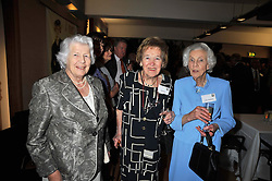 Left to right, JOYCE DUNLOP?, RUTH URE and LADY LLEWELLYN who worked in the Cabinet War Rooms during the war at the launch of the Imperial War Museum's 70th anniversary commemorating the outbreak of World War 11 held at the Cabinet War Rooms, Whitehall, London on 2nd September 2009.