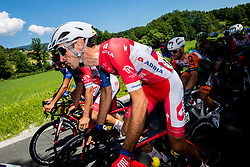 Radoslav Rogina (CRO) of Adria Mobil during 2nd Stage of 26th Tour of Slovenia 2019 cycling race between Maribor and  Celje (146,3 km), on June 20, 2019 in Celje, Maribor, Slovenia. Photo by Vid Ponikvar / Sportida