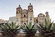 Church of Santo Domingo de Guzmán in the historic district Oaxaca, Mexico.