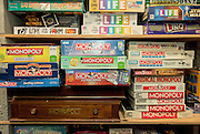 The Interactive Museum of Games and Puzzlrey has over 3500 games, including over 40 versions of Monopoly.