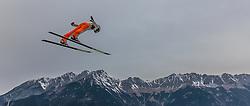 02.01.2016, Bergisel Schanze, Innsbruck, AUT, FIS Weltcup Ski Sprung, Vierschanzentournee, Training, im Bild Domen Prevc (SLO) // Domen Prevc of Slovenia during his Practice Jump for the Four Hills Tournament of FIS Ski Jumping World Cup at the Bergisel Schanze, Innsbruck, Austria on 2016/01/02. EXPA Pictures © 2016, PhotoCredit: EXPA/ JFK