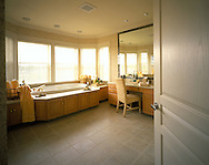 Hers master bath of the Lifestages home shot for Builder Magazine. 1999