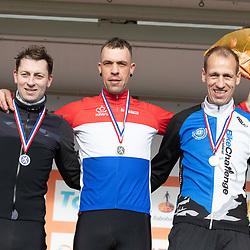 11-01-2020: Wielrennen: NK Veldrijden: Rucphen <br />Titel nummer 15 voor Freek de Jing voor Maikel Govaerts en Maarten Nijland