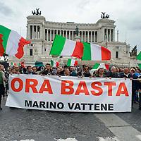 La Marcia delle periferie contro il sindaco Marino