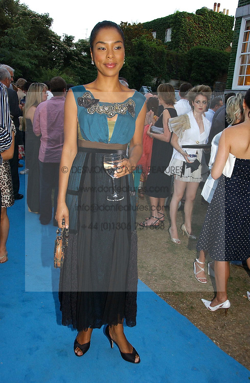 Actress SOPHIE OKONEDO at a party to celebrate FilmFour becoming the UK's first major free film channel held at Debenham House, Addison Road, London on 20th July 2006.<br /><br />NON EXCLUSIVE - WORLD RIGHTS