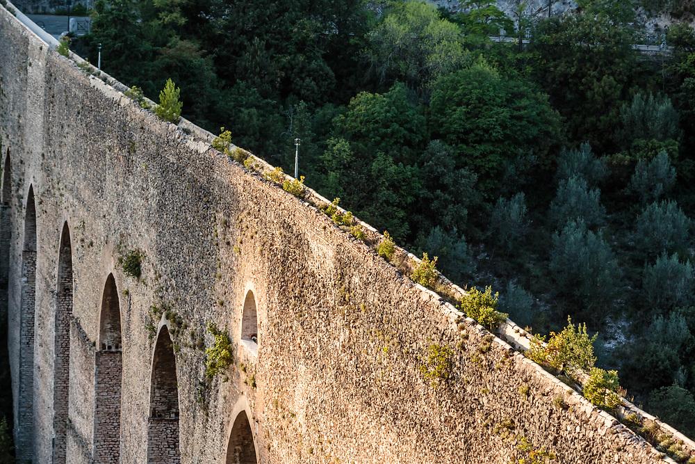10 SEP 2015 - Spoleto (PG) - Il ponte delle Torri, acquedotto romano.