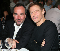 Nordoff-Robbins Chairman David Munns and Bryan Adams