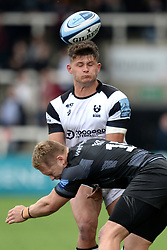 Piers O'Conor of Bristol Bears is tackled by Alex Tait of Newcastle Falcons  - Mandatory by-line: Richard Lee/JMP - 18/05/2019 - RUGBY - Kingston Park Stadium - Newcastle upon Tyne, England - Newcastle Falcons v Bristol Bears - Gallagher Premiership Rugby