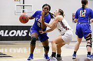 January 19, 2019: The St. Mary's University Rattlers play against the Oklahoma Christian University Lady Eagles in the Eagles Nest on the campus of Oklahoma Christian University.