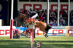 Lamaze Eric, CAN, Fine Lady 5<br /> Spruce Meadows Masters - Calgary<br /> © Dirk Caremans<br /> 09/09/2018