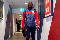 Famara Diedhiou of Bristol City arrives at Ashton Gate Stadium prior to kick off - Mandatory by-line: Ryan Hiscott/JMP - 09/04/2019 - FOOTBALL - Ashton Gate Stadium - Bristol, England - Bristol City v West Bromwich Albion - Sky Bet Championship