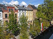 Blick auf Grabenstraße, Wiesbaden, Hessen, Deutschland |Grabenstrasse, Wiesbaden, Hesse, Germany
