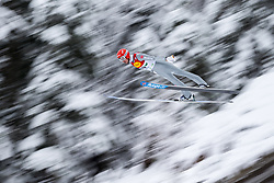 15.12.2017, Nordische Arena, Ramsau, AUT, FIS Weltcup Nordische Kombination, Skisprung, im Bild Bjoern Kircheisen (GER) // Bjoern Kircheisen of Germany during Cross Country Training of FIS Nordic Combined World Cup, at the Nordic Arena in Ramsau, Austria on 2017/12/15. EXPA Pictures © 2017, PhotoCredit: EXPA/ Dominik Angerer