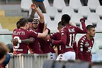 ph Marchisciano/One+Nine Images <br /> Torino 11-02-2018- Torino vs Udinese serie A TIM 2017-2018<br /> nella foto: nicolas nkoulou-esultanza dopo gol