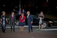 Princess Margriet and Pieter van Vollenhoven of The Netherlands attend the jubilee perfomance TUTTI of ballet group Introdans at the stadstheater in Arnhem, The Netherlands, 30 September 2016. Princess Margriet is patroness of Introdans.  Prinses Margriet en Pieter van Vollenhoven bij de premiere van de nieuwe introdans show TUTTI COPYRIGHT ROBIN UTRECHT