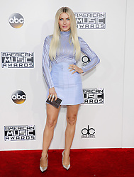Julianne Hough at the 2016 American Music Awards held at the Microsoft Theater in Los Angeles, USA on November 20, 2016.