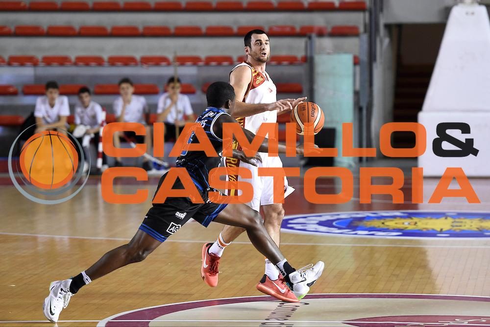Anthony Raffa<br /> Unicusano Roma - Benacquista Assicurazioni Latina<br /> Campionato Basket LNP 2016/2017<br /> Roma 06/11/2016<br /> Foto Ciamillo-Castoria