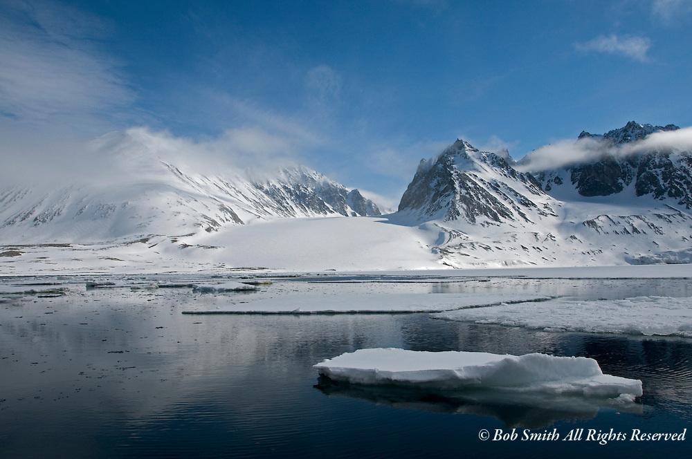 Magdalena Fjord, Spitsbergen, Norway.