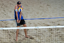 06-01-2019 NED: Dela Beach Open, Den Haag<br /> Netherlands lost the bronze medal from Russia 1-2 / Robert Meeuwsen #2