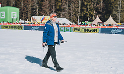 15.02.2020, Kulm, Bad Mitterndorf, AUT, FIS Ski Flug Weltcup, Kulm, Herren, Siegerehrung, im Bild FIS Renndirektor Walter Hofer // FIS Racedirector Walter Hofer during the winner ceremony for the men's FIS Ski Flying World Cup at the Kulm in Bad Mitterndorf, Austria on 2020/02/15. EXPA Pictures © 2020, PhotoCredit: EXPA/ JFK