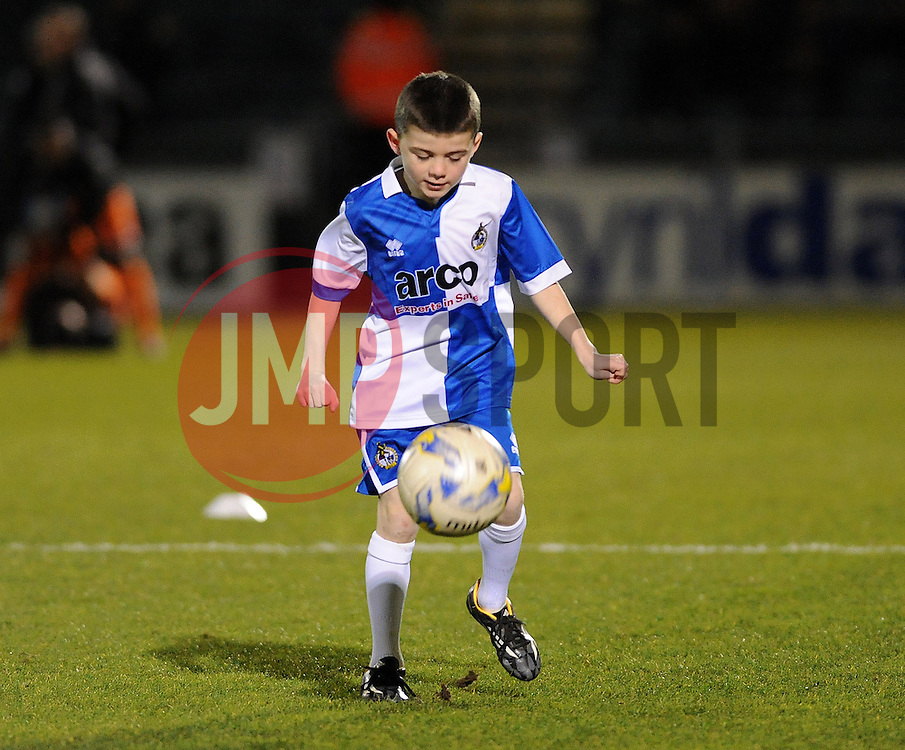 Mascot- Photo mandatory by-line: Neil Brookman/JMP - Mobile: 07966 386802 - 24/02/2015 - SPORT - Football - Bristol - Memorial Stadium - Bristol Rovers v Braintree - Vanarama Football Conference
